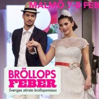 Bröllopsmässa i Slagthuset i Malmö, februari 2015. Vi kommer ställa ut med en limo eller två.
